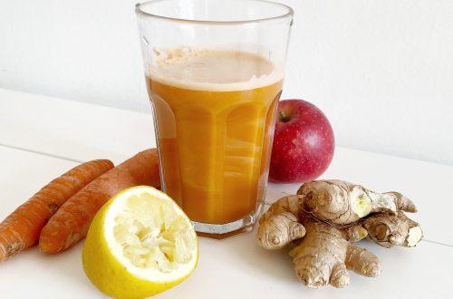 maman zero dechet cure jus detox carotte citron gingembre pomme