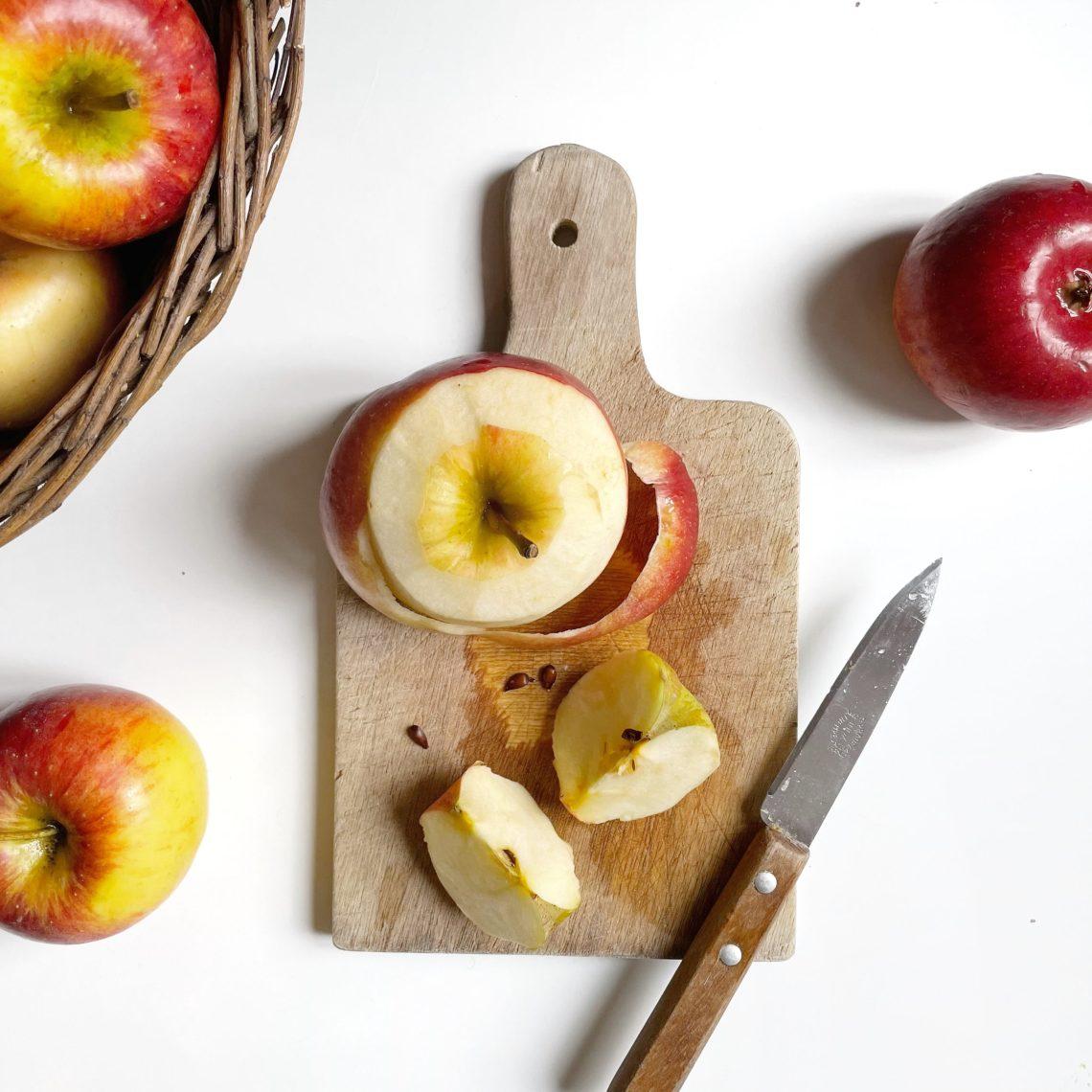 bienfaits et astuces anti-gaspi autour de la pomme