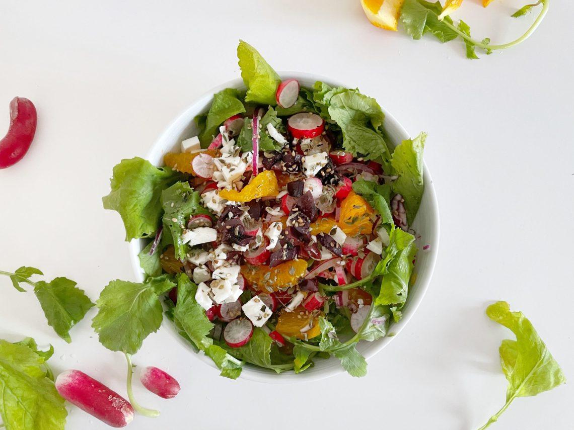 salade composée facile et originale