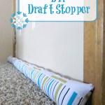 DIY Draft Stopper