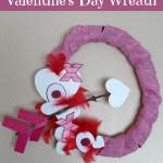 Dollar Tree Craft Idea: Whimsical Valentine's Day Wreath