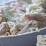 Mama's Seafood Pasta Salad Recipe