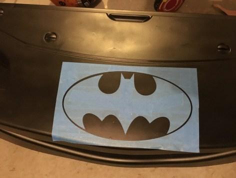 Mama of Both Worlds - DIY Superhero Room Batman Toddler Bed