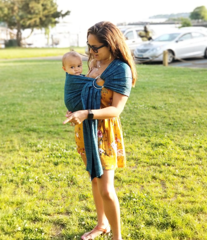 Benefits of Babywearing: Mama of Both Worlds