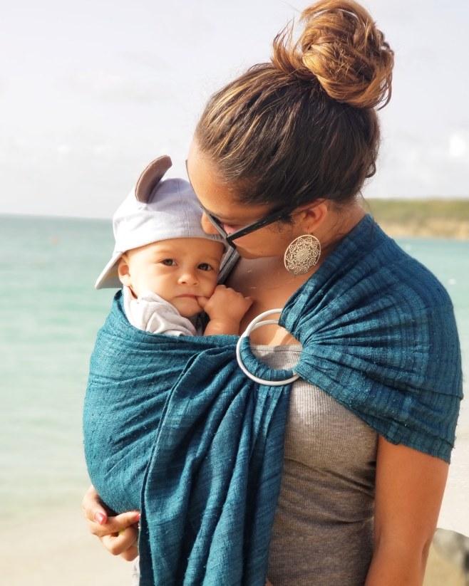 Benefits of Babywearing: Mama of Both Worlds