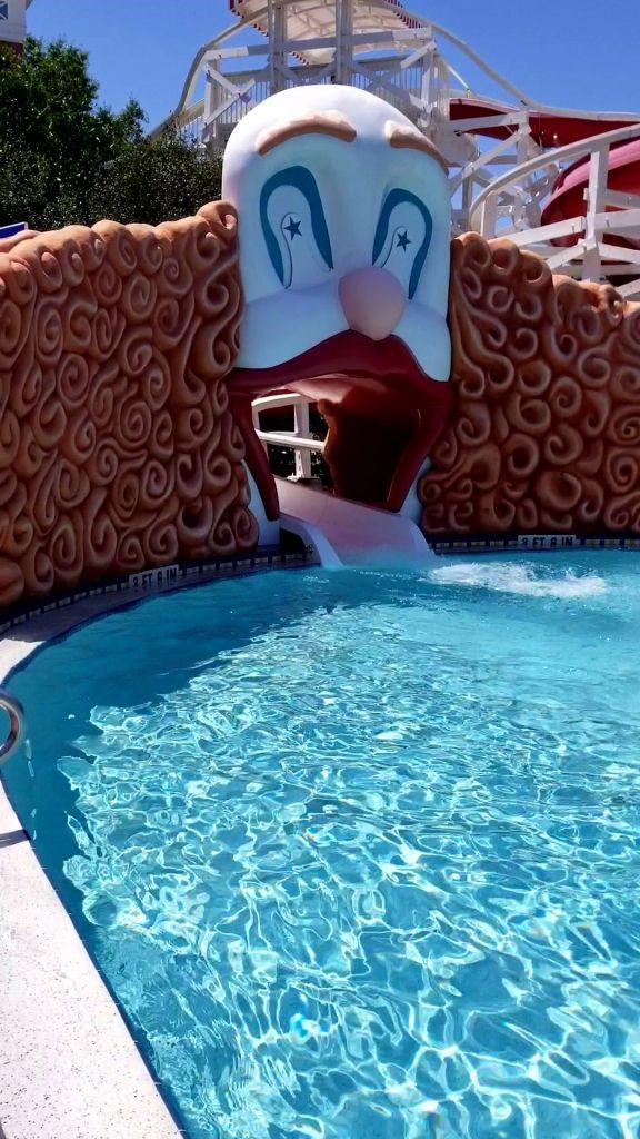 Mama of Both Worlds: Disney's Boardwalk Villas Pool
