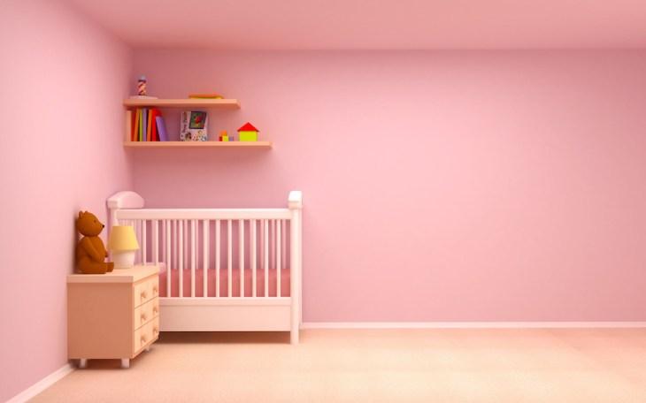 roza soba za bebe
