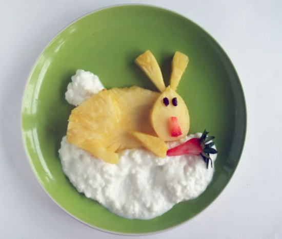 slatki zeko doručak