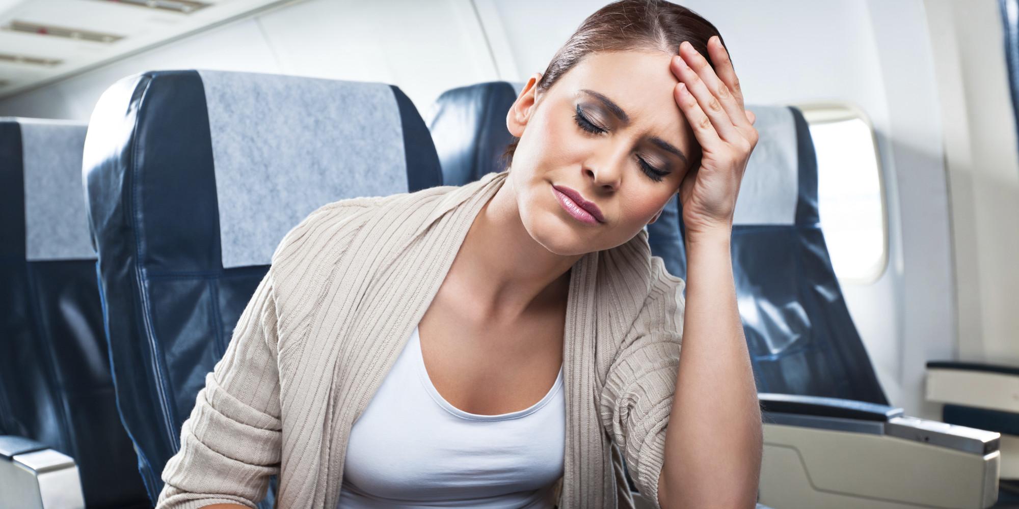 glavobolja u avionu