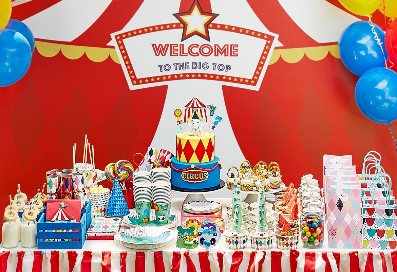 dječiji rođendan tema cirkus