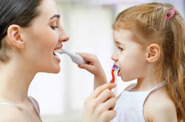 Pranje zuba djeca