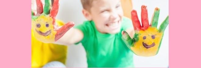 Pintura y niños
