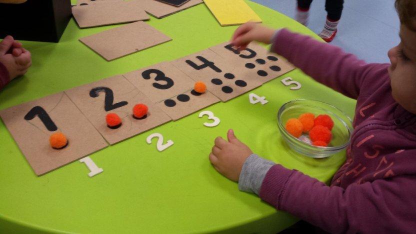 Aprende a contar con el método Montessori