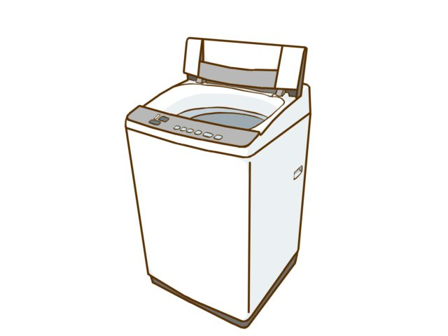 洗濯機の絵