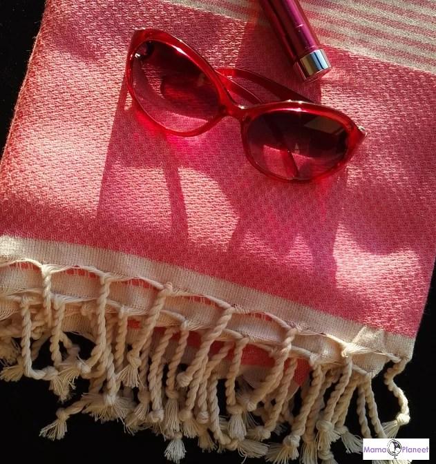 De multifunctionele hamamdoek van Happy Towels