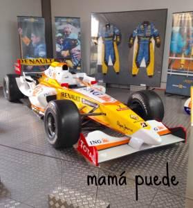 Museo Automoción Fernando Alonso
