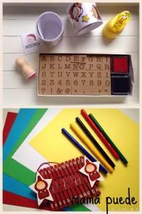 Materiales Calendario de Adviento