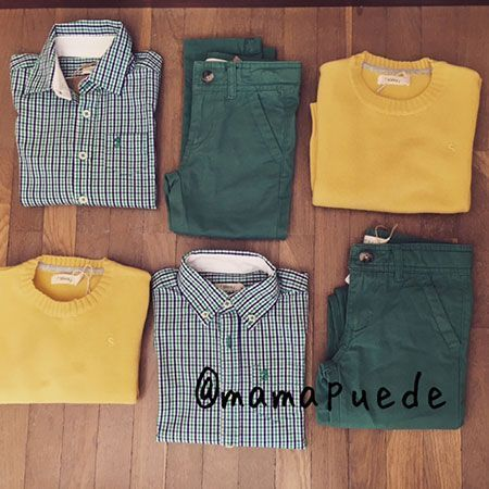 combinar pantalones verdes