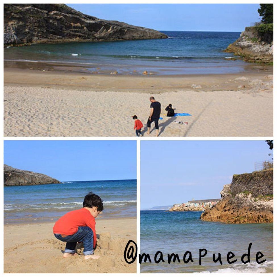 playas de llanes con niños
