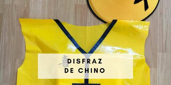 Disfraz de Chino, muy fácil.