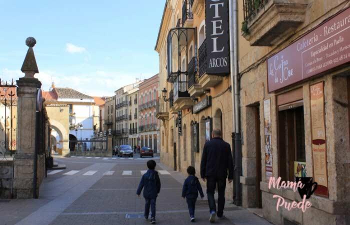 calles de ciudad rodrigo