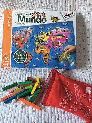 puzzle del mundo