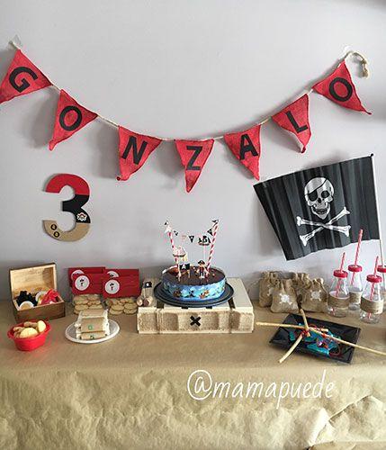 cumpleaños de piratas
