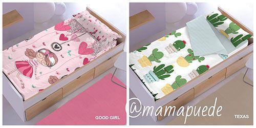 S banas para camas peque as de ikea mam puede - Ikea sabanas nordicas ...