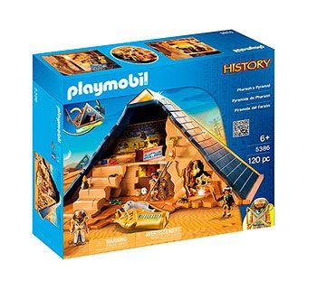 pirámide del faraón de playmobil