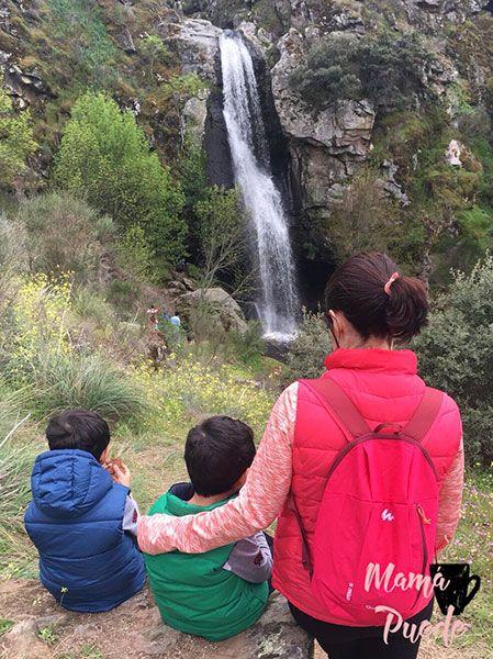 pozo airón con niños