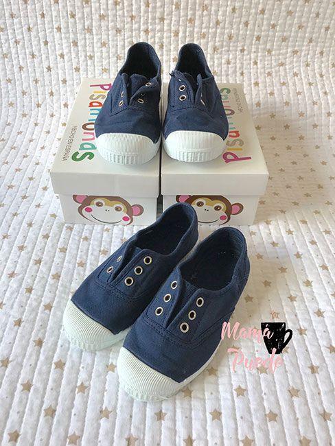 calzado para niños