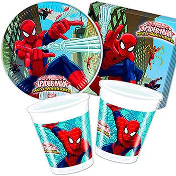 pack spiderman