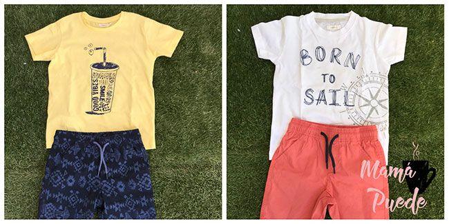 ropa de verano para niños