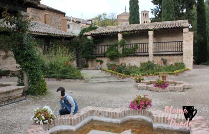 Jardín del Museo de El Greco
