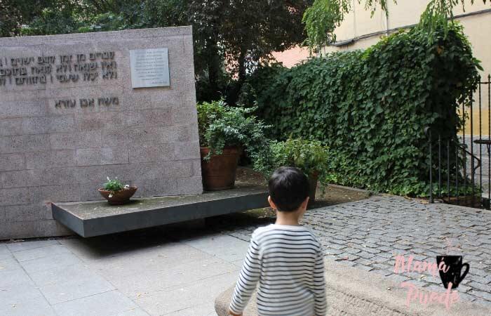 Jardín de la Memoría en Toledo