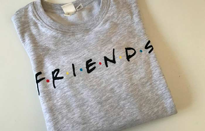 sudadera de friends
