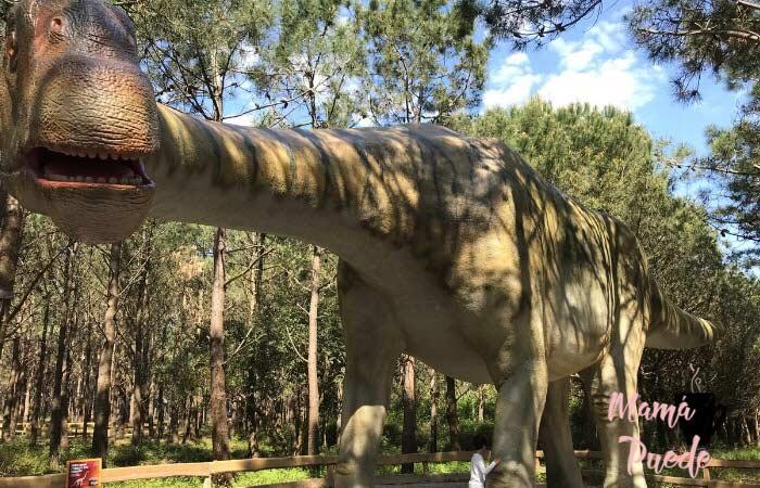 parque de dinosaurios en lourinha