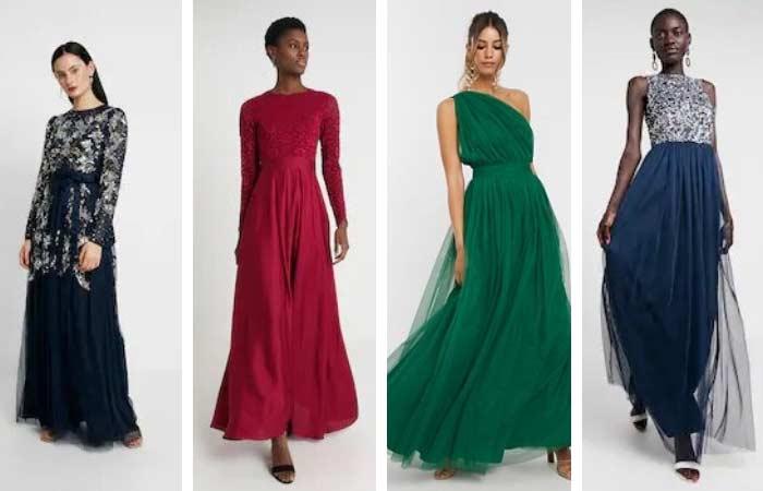 vestidos largos de invitada