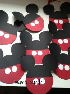 invitaciones cumple de mickey mouse