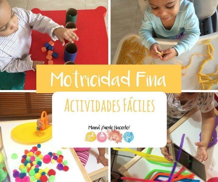 Motricidad Fina 8 Actividades Fáciles