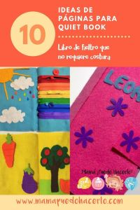 Quiet Book Ideas - Libro de Fieltro