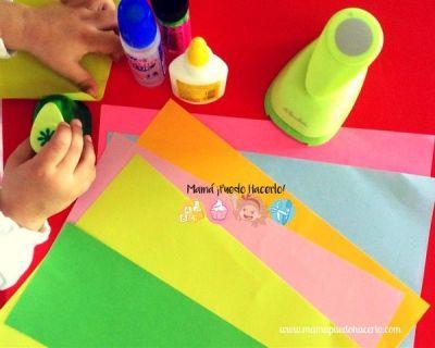 Consejos para hacer manualidades con niños