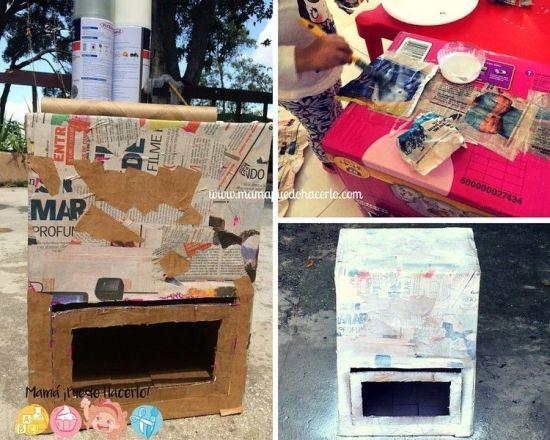 Cocina de Cartón Reciclado (4)