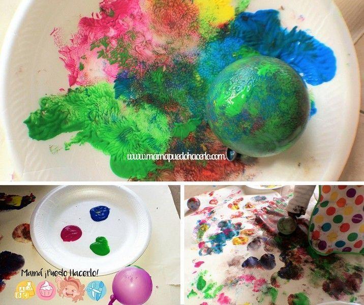 Pintar con Globos de Agua