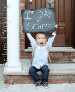Ideas para recordar el primer día de clases