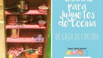 Cocina De Cartón Reciclado Mamá Puedo Hacerlo
