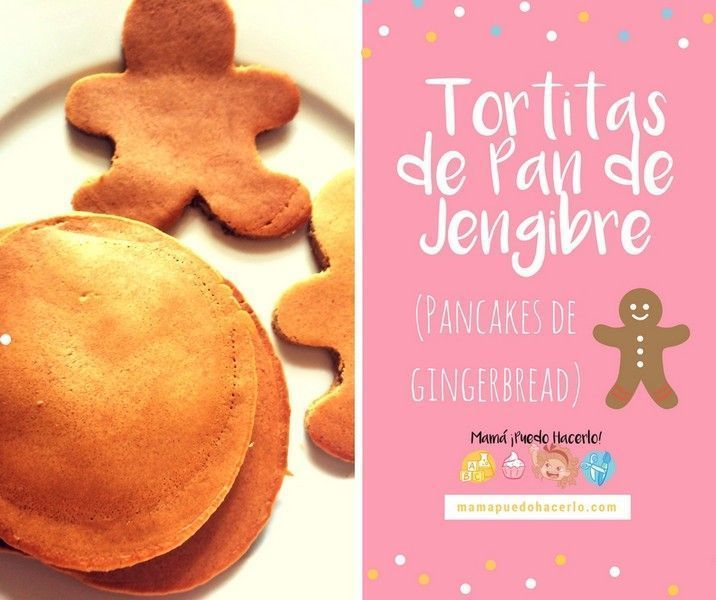 Tortitas de pan de jengibre