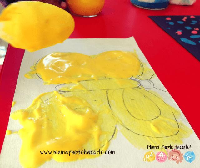 Pintura Esponjosa en 3D
