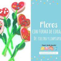 Flores con Forma de Corazón