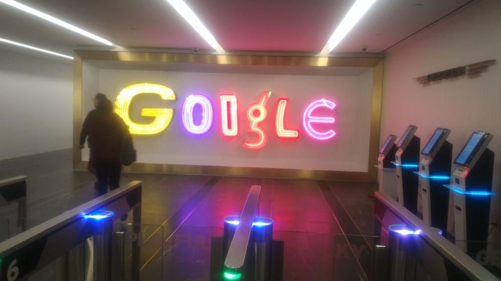 Las oficinas de Google en NYC
